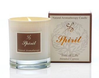 Cypress soy Candle - Scented candles - Aromatherapy Candles - Organic candles - Natural Candles