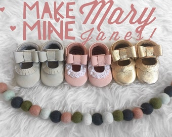 Make My Mocs Mary Janes! // Add on