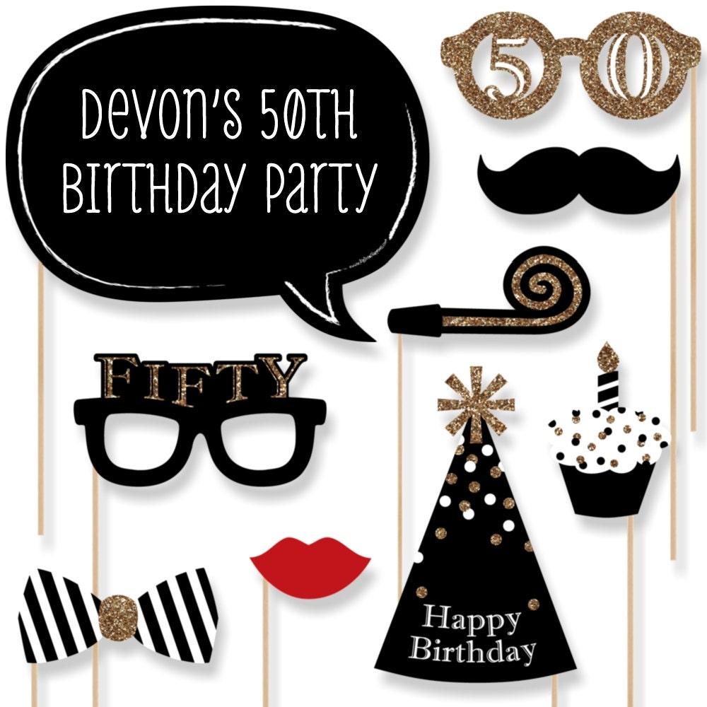 50th birthday | Etsy