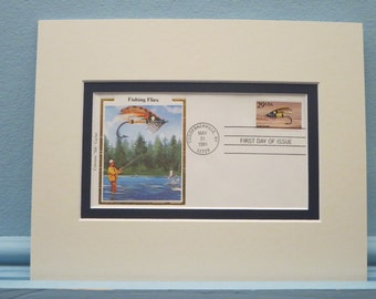 The Art of Fly Fishing & First Day Cover of the Jock Scott Fly Stamp.