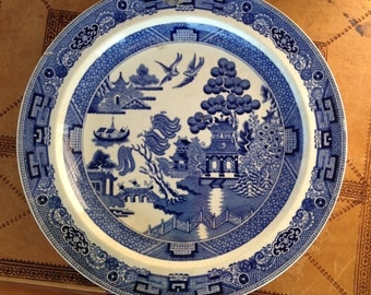 Wedgwood Willow Pattern Plate