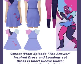 Garnet Inspired Cosplay Outfit