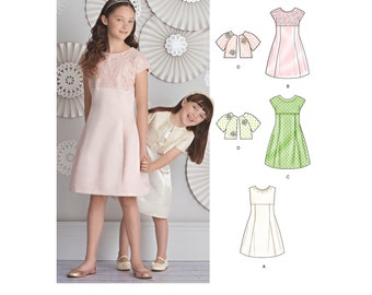 Simplicity Sewing Pattern 8271 Child's and Girls' Dress and Jacket
