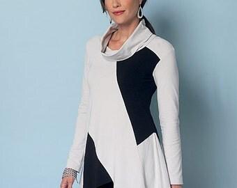 Butterick Sewing Pattern B6287 Misses' Seam-Detail Tunics