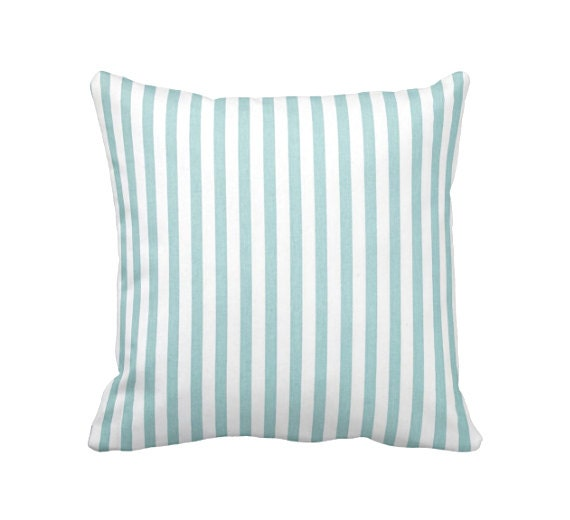 Light Blue Throw Pillow Covers : Blue Throw Pillow Cover Light Blue Pillow Cover Striped