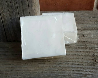 Shea Butter and Glycerin Organic Soap, Two 3 Oz Bars, Unscented, Vegan Organic Soap, Very Moisturizing, Great for Sensitive Skin!
