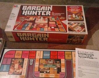Bargain Hunter 1981 MB board game -Complete-