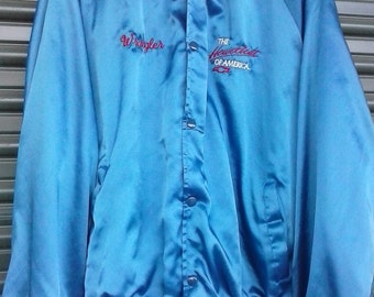 Retro chevy satin jacket L/XL