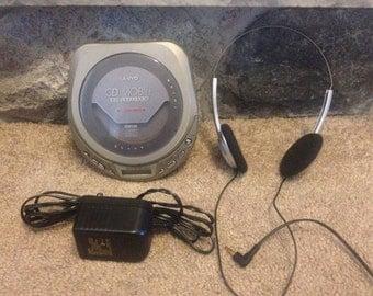 Vintage Sanyo portable cd player discman CD Mobile
