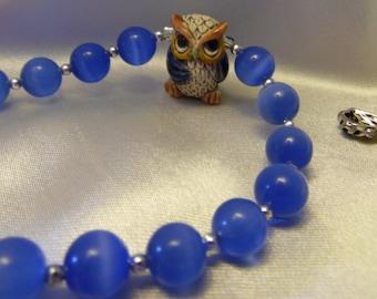 Owl-themed Paternoster/prayer/meditation beads  **FREE SHIPPING!!!