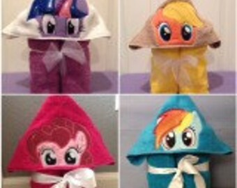 Pony Hooded Towels