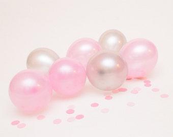 12 Mini Balloons, Winter ONEderland birthday, winter wonderland Wedding, Baby Shower, Bridal Shower