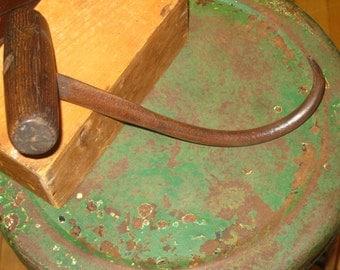 SALE!! Primitive Tools , Primitive Hay Hook , Primitive Farm Tool
