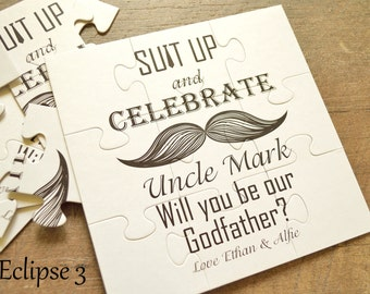 Will you be my Godfather, Will you be our Godfather, Godfather gift, Godfather proposal, Godparents card, Godfather invite, godparents gift