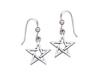 Pentagram Pentacle Earrings