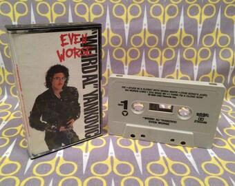 Even Worse by Weird Al Yankovic Cassette Tape rock comedy