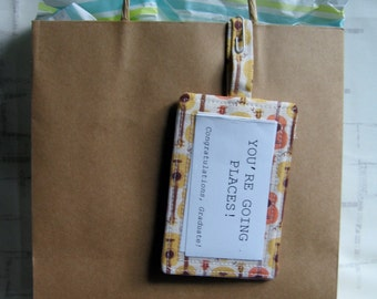 Fabric Luggage Tag - Instrument ID Tag - Laptop Tag