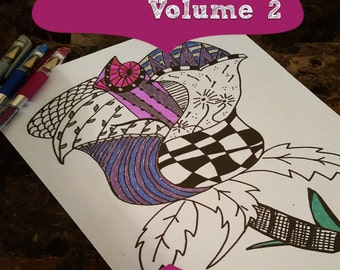 Illustrate Your Faith- A Coloring Book for All Ages Volume 2- 20 Different Designs- eBook