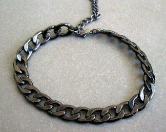 Mens Black Bracelets  - Men's Jewelry - Jewelry For Men - Bracelets For Men - Gift for Him - boyfriend gift , guys bracelet
