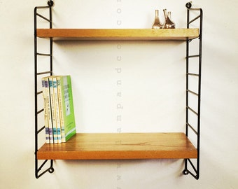 Little modular String  shelf system.