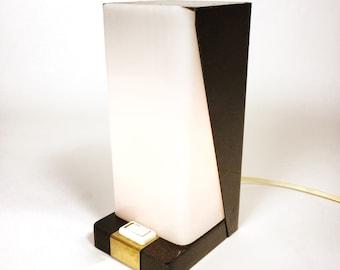 Little table lamp. Minimalistic design.