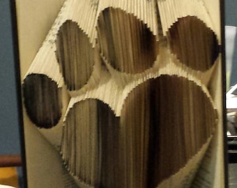 Heart Paw Print Folded Book