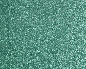 FINE glitter fabric sheet. Light Blue A4 sheet. JR09146