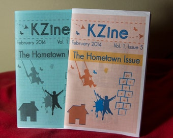 Art Zine, KZine; Vol. 1, Issue 5: The Hometown Issue, Zine, Arts Zine