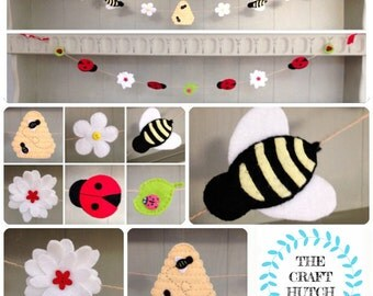 Buzzy Bee and Ladybird Bunting