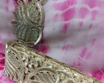 Designer Gold Sari Border / Trim         (Price per Yard)