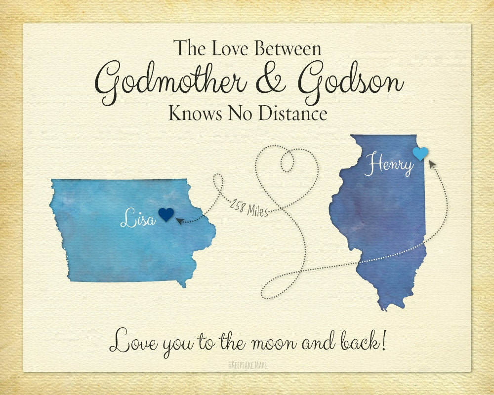 Godmother Gift Goddaughter Gift Long Distance Gift