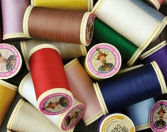 Fil Au Chinois waxed sewing thread for PATCHWORK - 100m spool