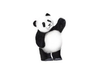Panda Nursery, Baby Zoo Animal, Painting, Gender Neutral Baby, Childrens Wall Decor, Panda Bear, Safari, Art Print, Nursery Art, Kids