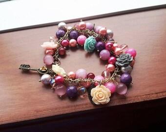 VANA - Silmarillion inspired charm bracelet- Valars
