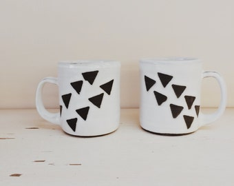 Flying Triangle Mug (Leftie and Rightie)