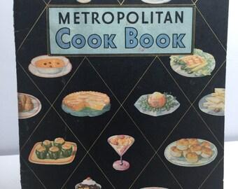 Vintage 1930's Metropolitan Cook Book