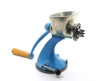Vintage Blue Spong & Co Mincer
