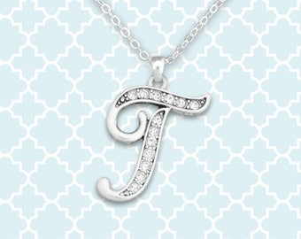 T Initial Necklace - 54370