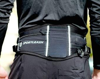 Hands-Free SportPack w/ Detachable Bungee Dog Leash