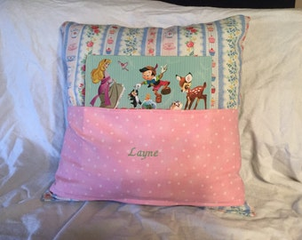 Personalized kids book pocket pillow with reading lights!