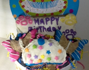Dog Treats - Dog Birthday Basket