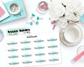 "SNARK SERIES: ""You're a diamond, boo... They can't break you."" Paper Planner Stickers!"