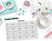 "SNARK SERIES: ""Stay Humble, Hustle Hard."" Paper Planner Stickers!"