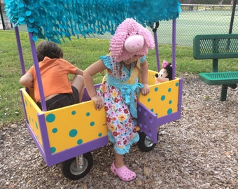 Kids wagon, kids cart, ride on toy, outdoor games, wagon, cart