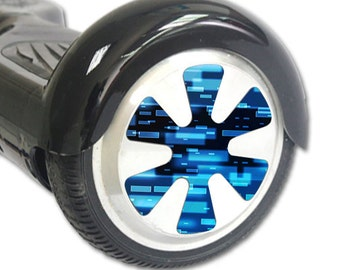 Skin Decal Wrap for Hoverboard Balance Board Scooter Wheels Space Blocks