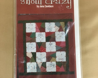 Snow Crazy Pattern by Jana Davidson
