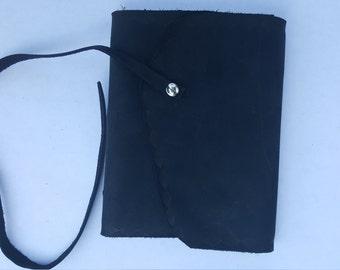 Black Leather sketchbook