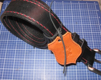full grain leather belt, Classic Double Shoulders Leather, Black Belt Handmade, Hand Saddle Stitched not Rivet
