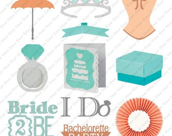 Cricut BRIDAL SHOWERS Cartridge