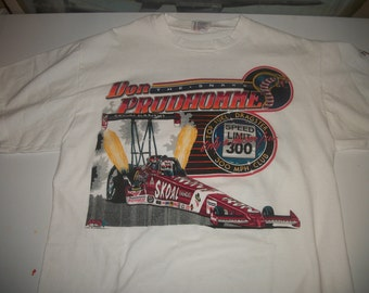 "Don Prudhomme ""the Snake"" NHRA top fuel t shirt 1993"